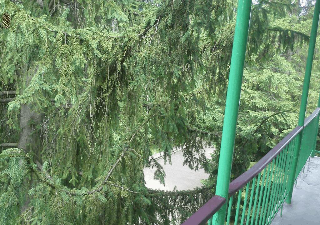 Վահագն Ռեզորթի պատշգամբը